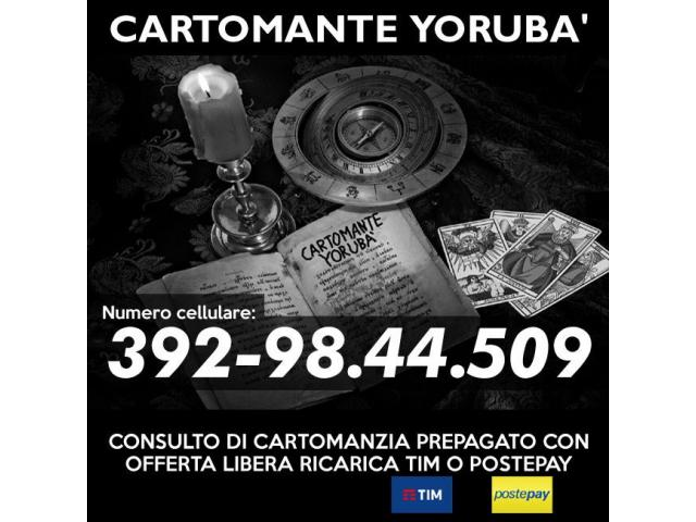Consulenza esoterica con offerta libera - Studio di Cartomanzia
